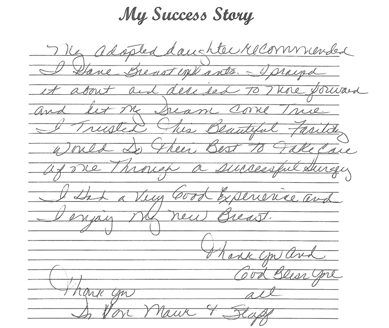 Patient Testimonial: Mary Lou