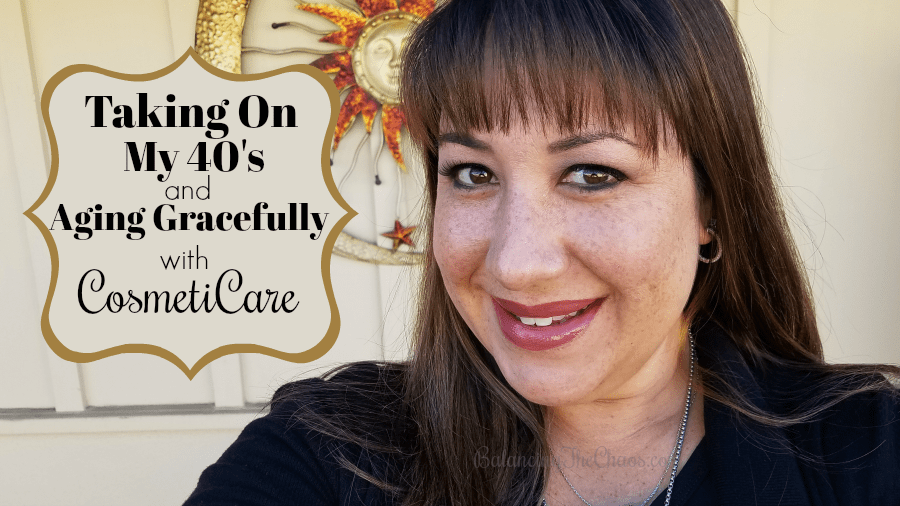 Taking On My 40's And Aging Gracefully with CosmetiCare