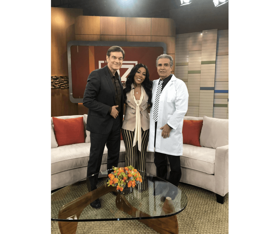 Dr. Oz and K. Michelle and Dr. Niccole