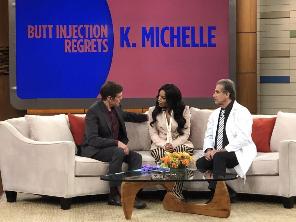 K. Michelle And Dr. Niccole Featured On The Dr. Oz Show