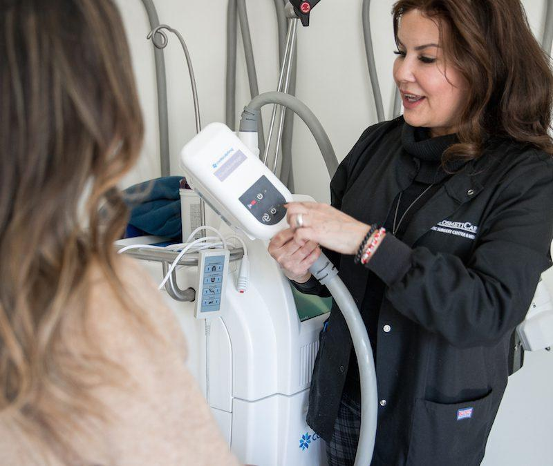 CoolSculpting Experience at CosmetiCare