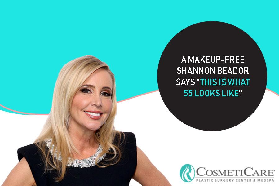"A Makeup-Free Shannon Beador Says ""This Is What 55 Looks Like"""