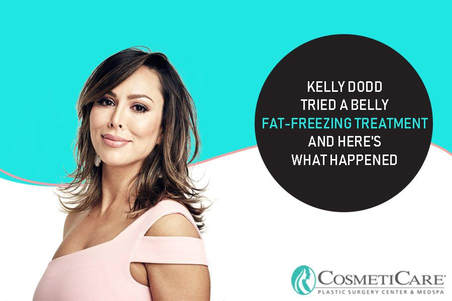 Kelly Dodd Tried a Belly Fat-Freezing Treatment and Here's What Happened