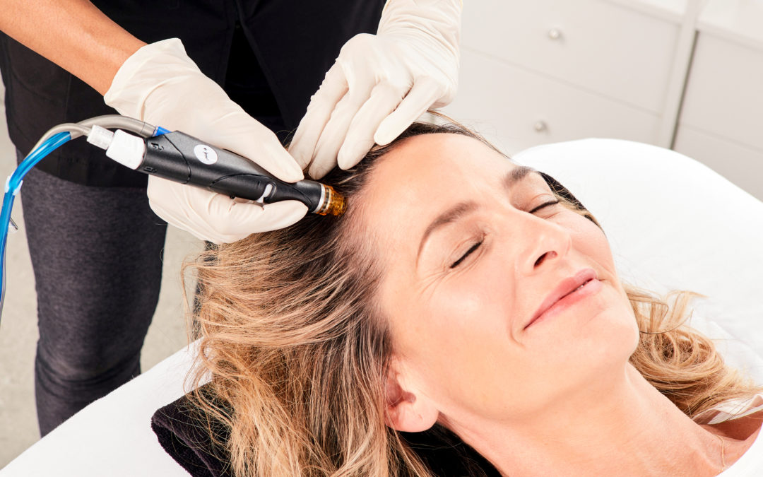 Your Scalp Health Solution: Introducing HydraFacial® Keravive™