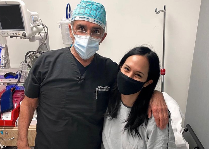 Real Housewife Alum Receives Rhinoplasty (Nose Job) with Dr. Niccole of CosmetiCare in Newport Beach