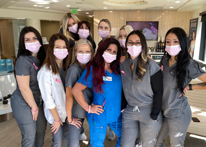 Breast Cancer Awareness Month at CosmetiCare in Newport Beach